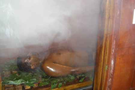 Herbal Steam Bath