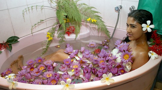 Herbal Water Bath